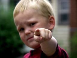 kid pointing #2