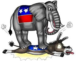 gop over dems