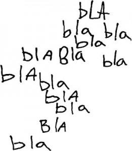 blablabla-blah